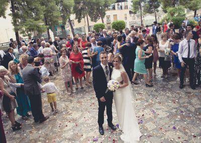 boda con dia de lluvia
