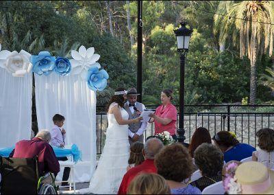 Lecturas boda civil archena
