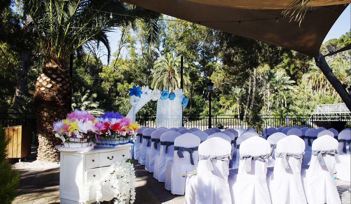 boda civil decoracion
