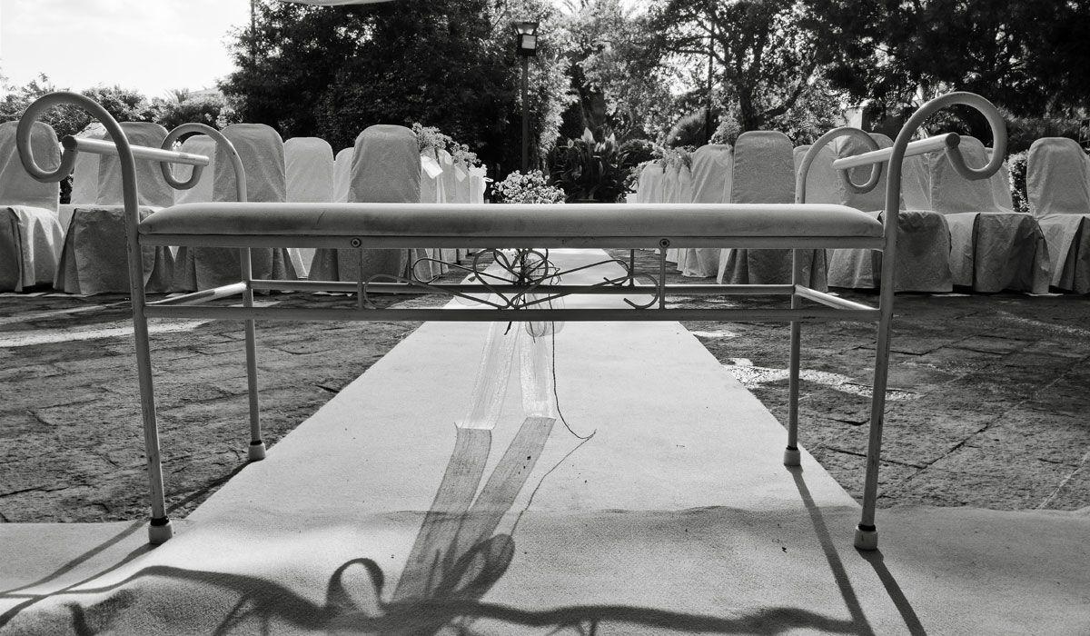 banco de novios para boda civil