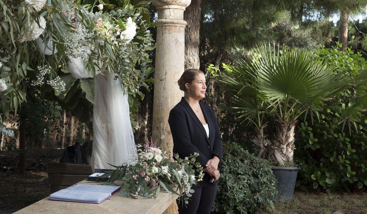 Fanny maestra de ceremonias restaurante Aquario