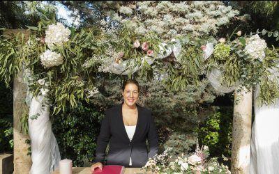 Maestra de ceremonias en Murcia