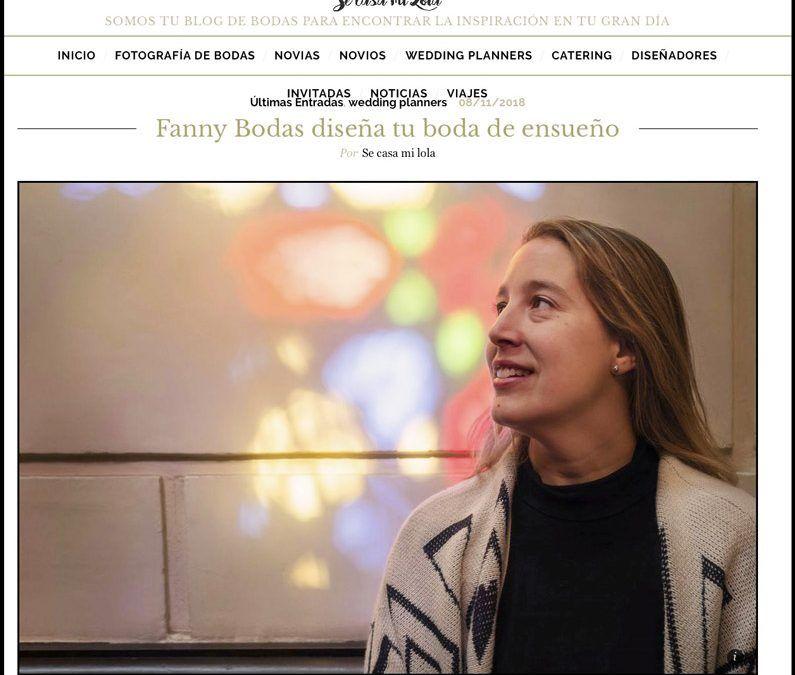 Entrevista a Fanny Bodas