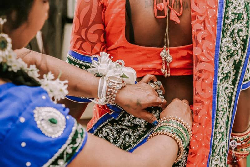 vestido boda multicultural