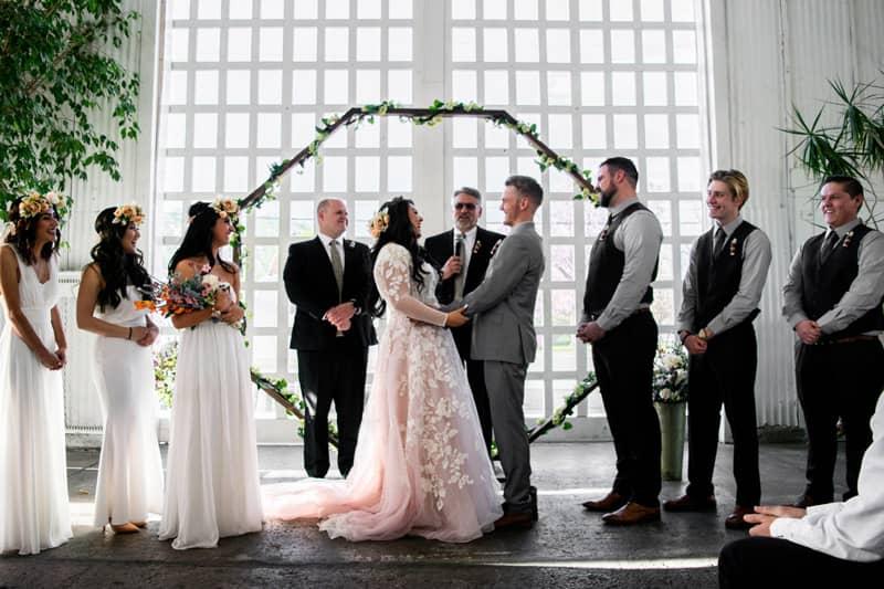 entregar a la novia boda