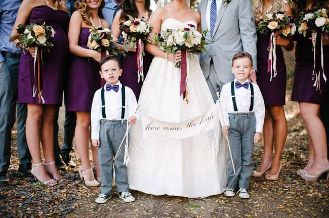 bodas niños