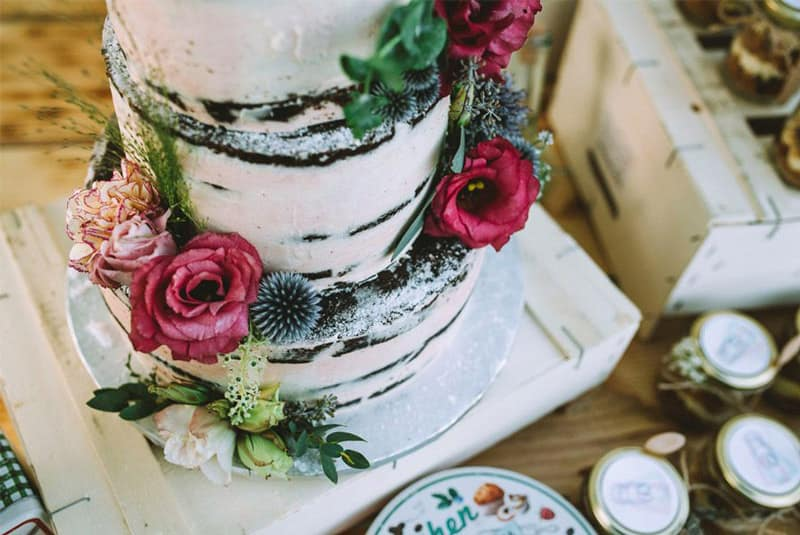Elegir el pastel de boda
