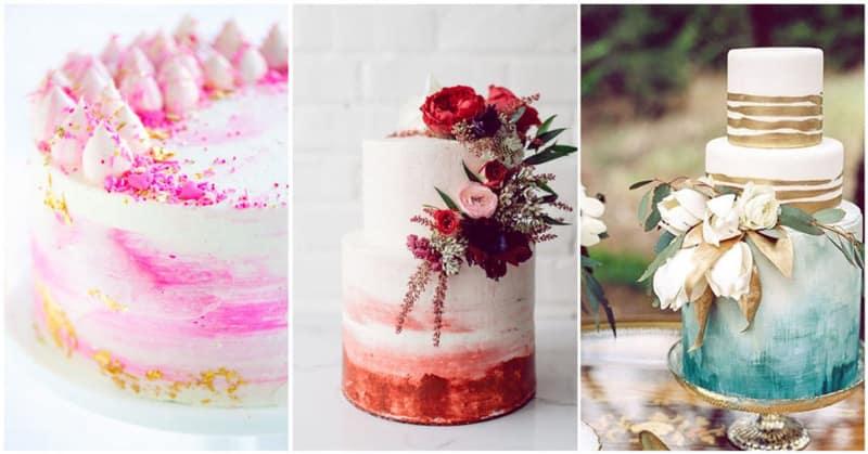 pastel boda acuarela