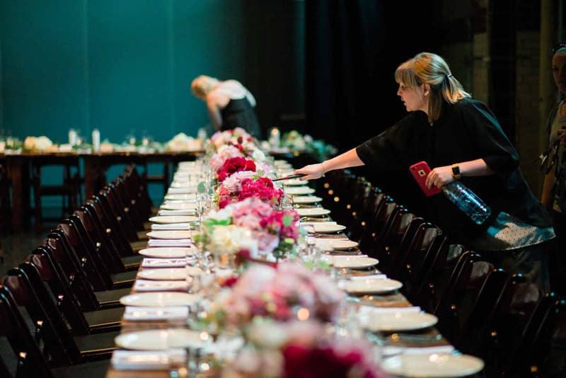 coordinador banquete boda