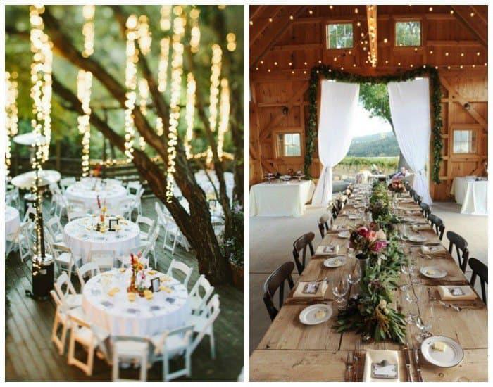 Como se organizan las mesas de una boda