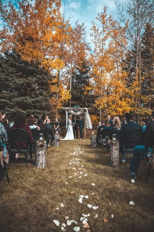 boda en el bosque Galicia