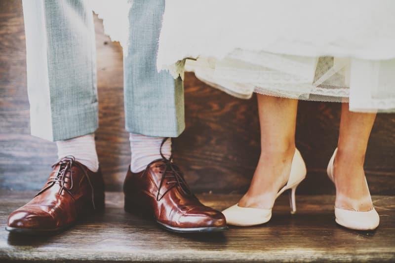 estilos de zapatos de novia