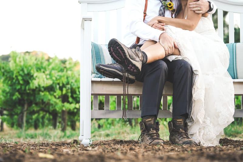 usar botas el dia de tu boda