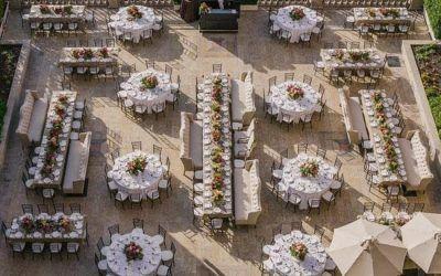 Organizar las mesas de tu boda