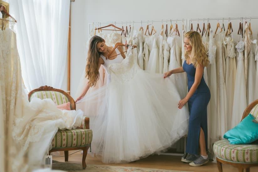 Encontrar tu vestido de novia