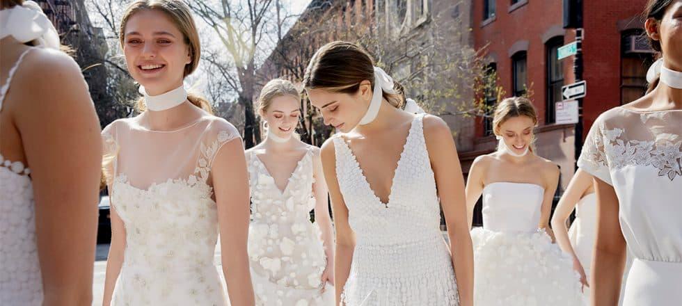 escogiendo el vestido de novia