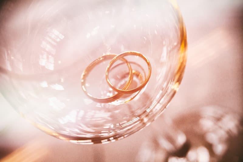 anillos de boda clásicos