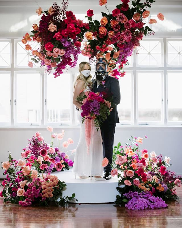 usar mascarilla para bodas con coronavirus